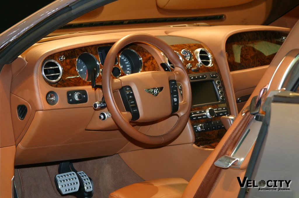 2002 Bentley Continental GT concept interior