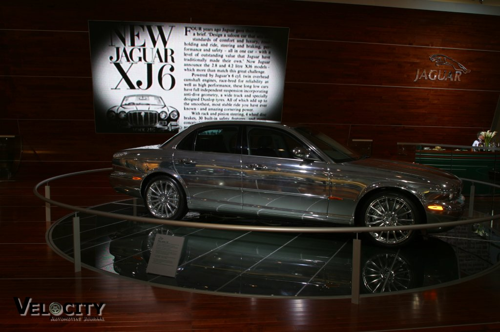 2004 Jaguar XJ show car