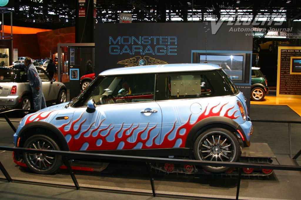 Monster Garage custom Mini Cooper