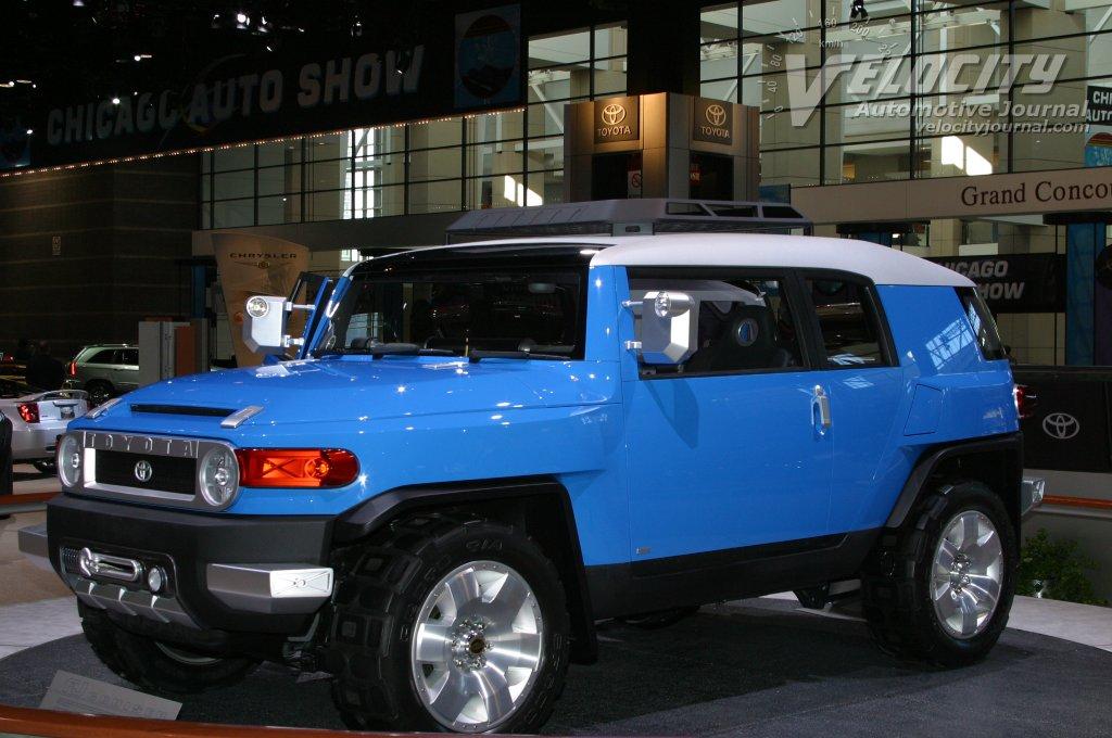 2003 Toyota FJ Cruiser concept