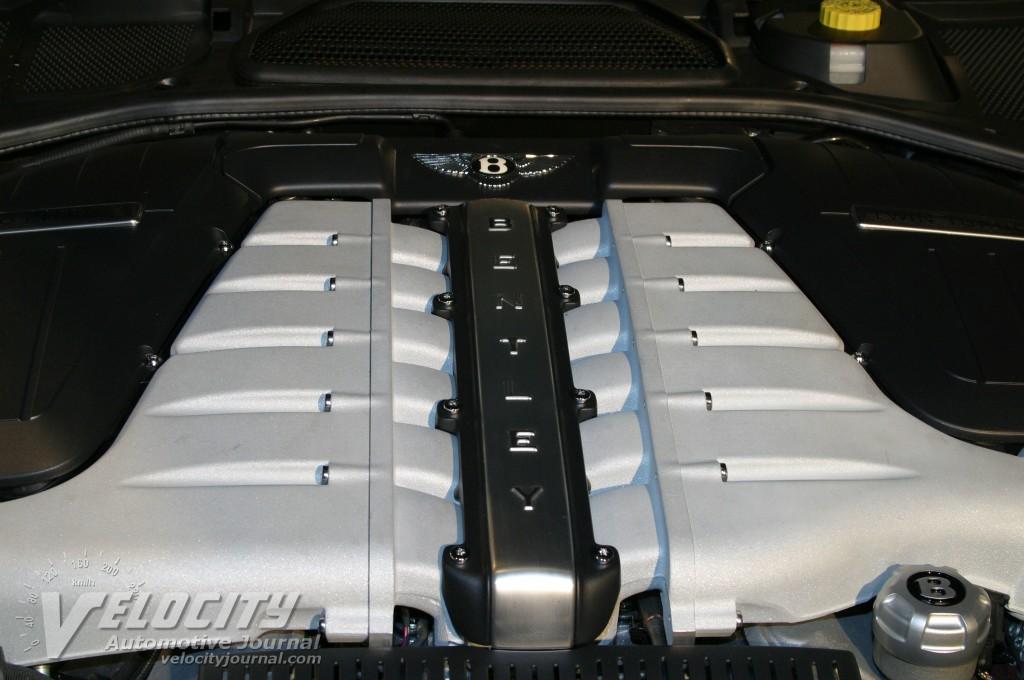 2004 Bentley Continental GT engine