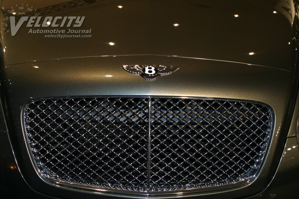 2004 Bentley Continental GT grille