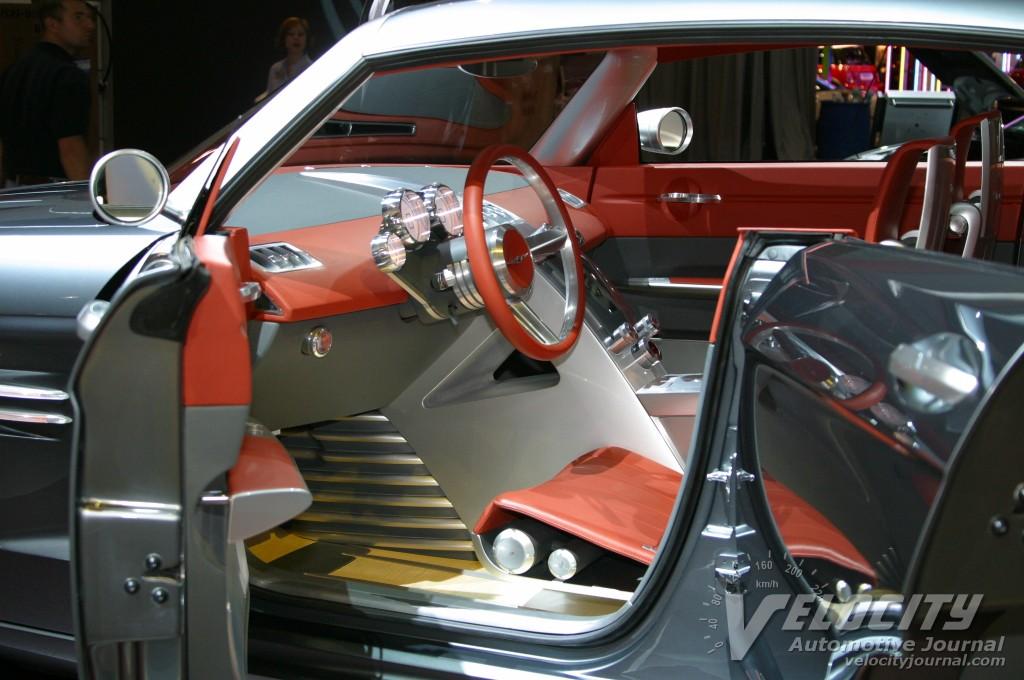 2003 Chrysler Airflite concept interior
