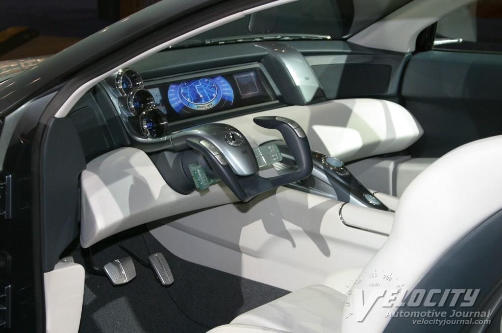 2003 Lexus HPX concept interior