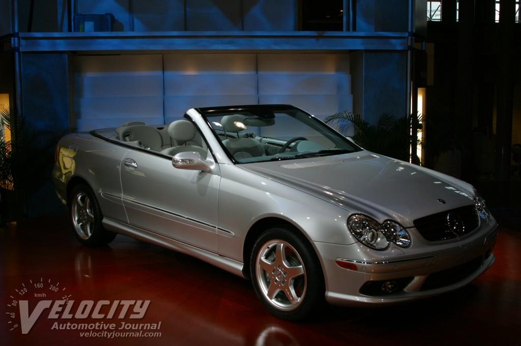 2004 Mercedes-Benz CLK500 convertible