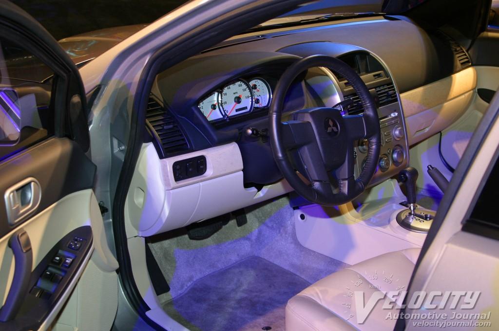 2004 Mitsubishi Galant GLS interior