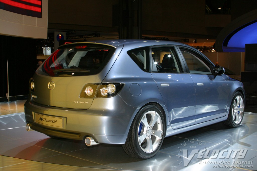 2003 Mazda MX-Sportiff concept