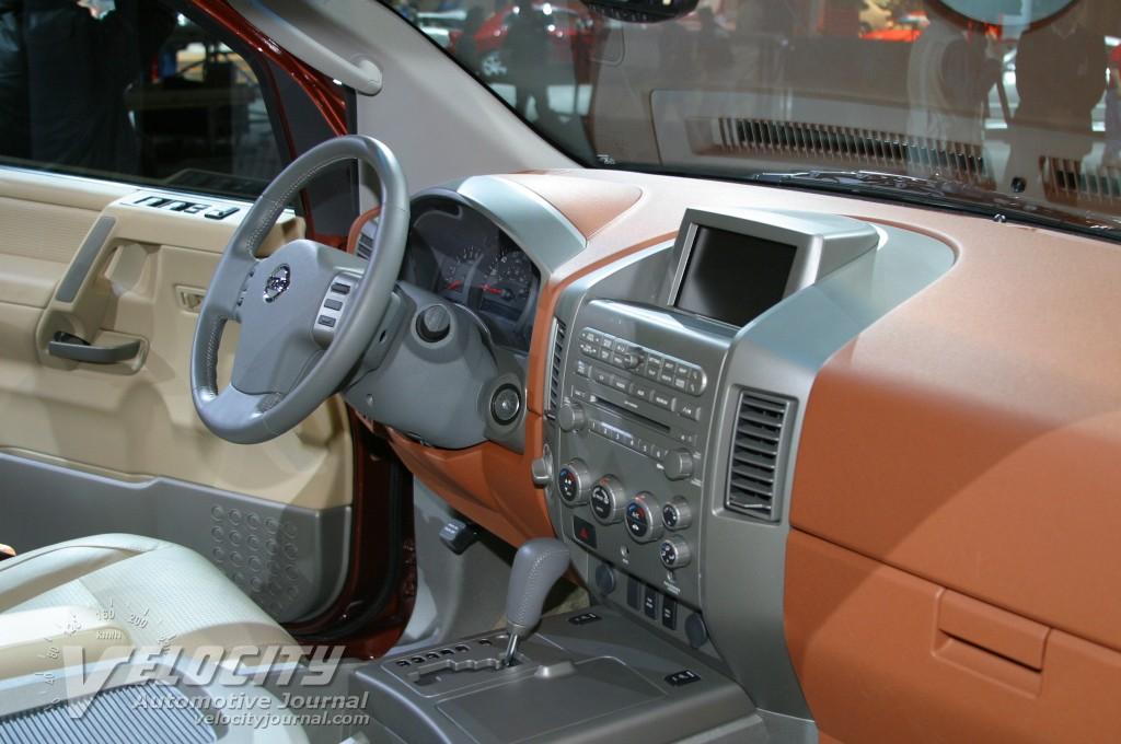 2004 Nissan Pathfinder Armada interior