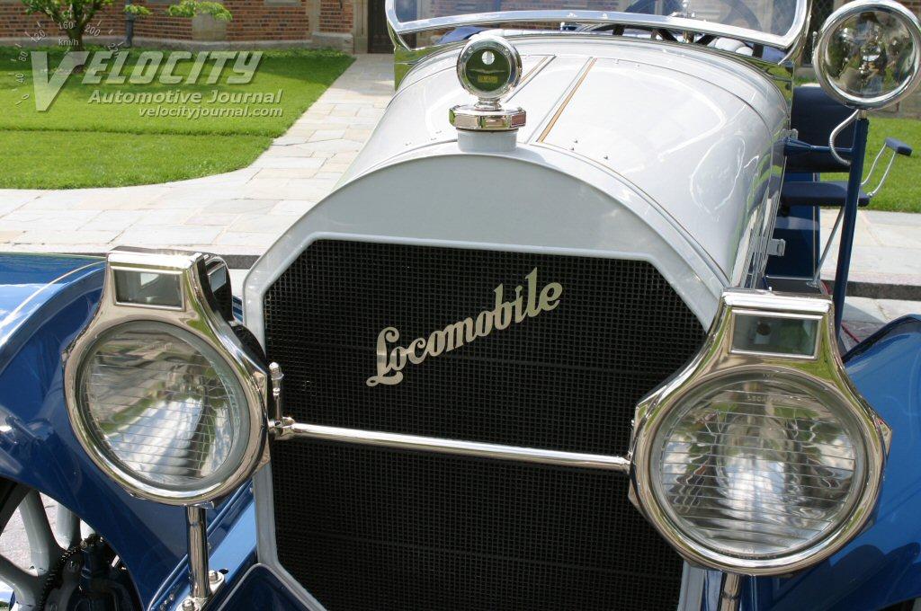 1917 Locomobile Gun Boat Speedster grille
