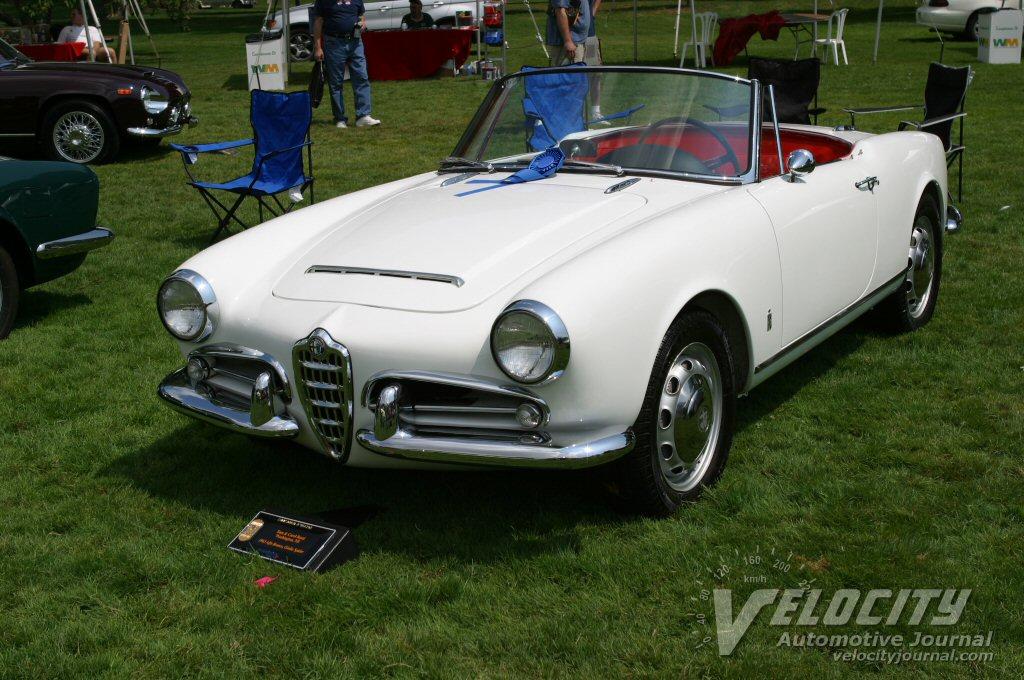 1963 Alfa Romeo Giulia Spyder
