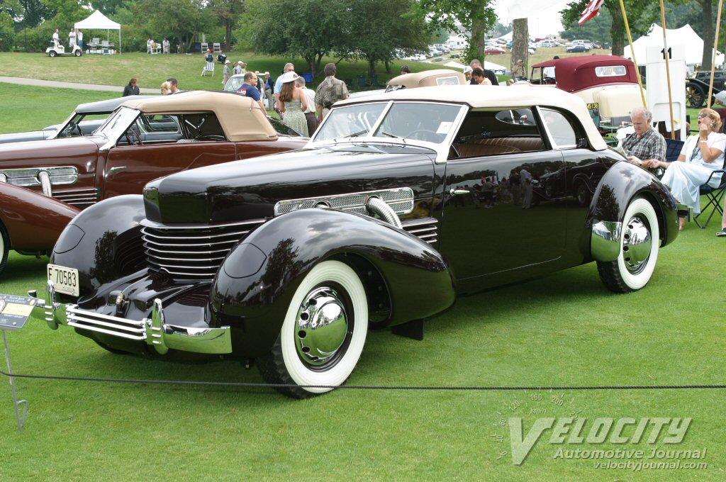 1937 Cord Model 812 Phaeton