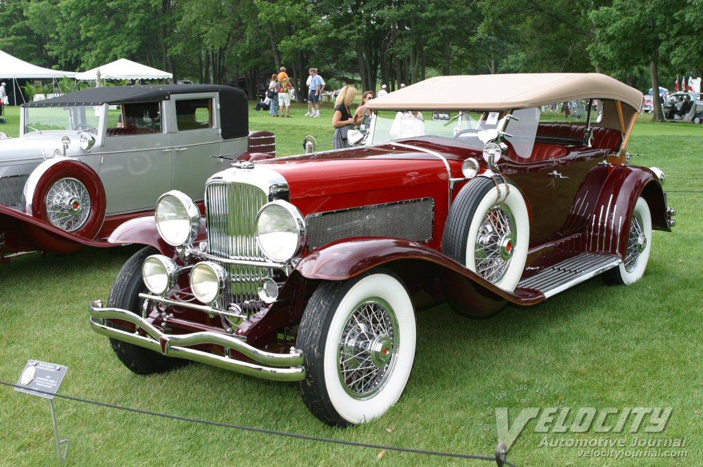 1929 Duesenberg Model J LeBaron Dual Cowl Phaeton