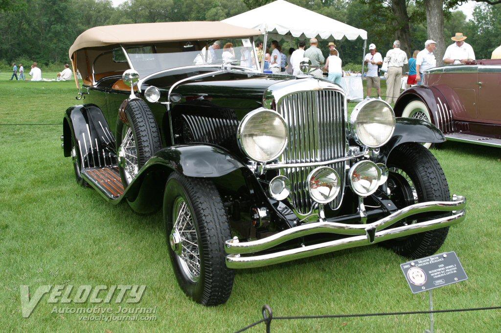 1929 Duesenberg Model J Murphy DC Phaeton