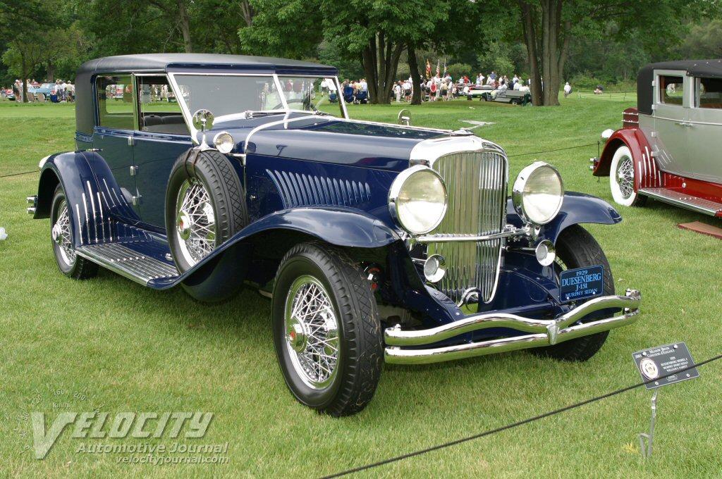 1929 Duesenberg Model J Murphy Sport Sedan