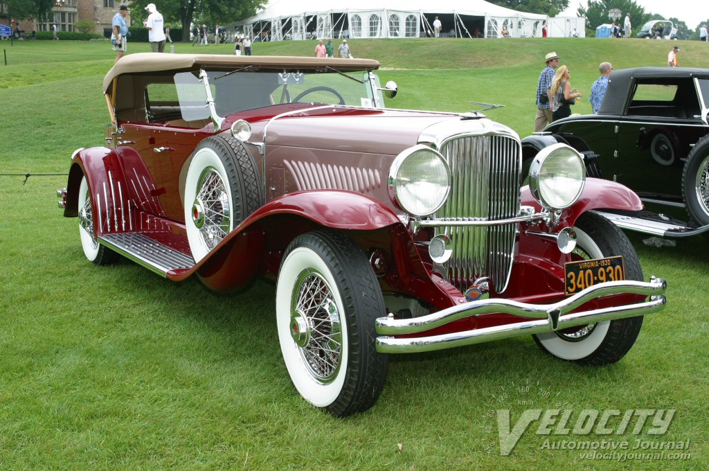 1930 Duesenberg Model J LaGrande D.C. Phaeton