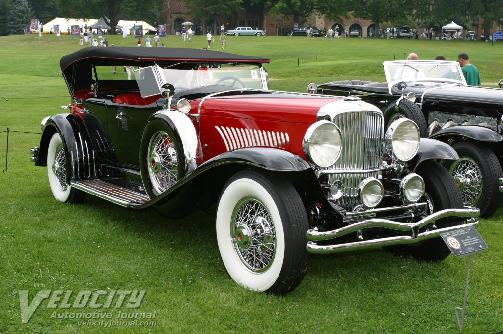 1932 Duesenberg Model J LeBaron D.C. Phaeton