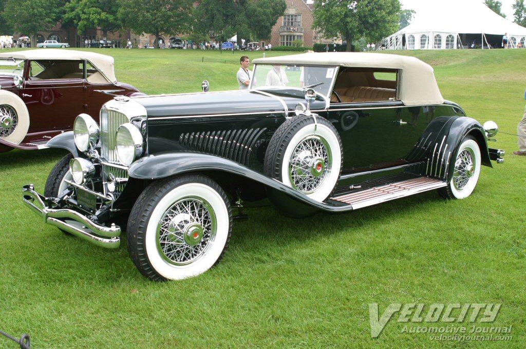 1932 Duesenberg Model J Murphy Convertible Victoria