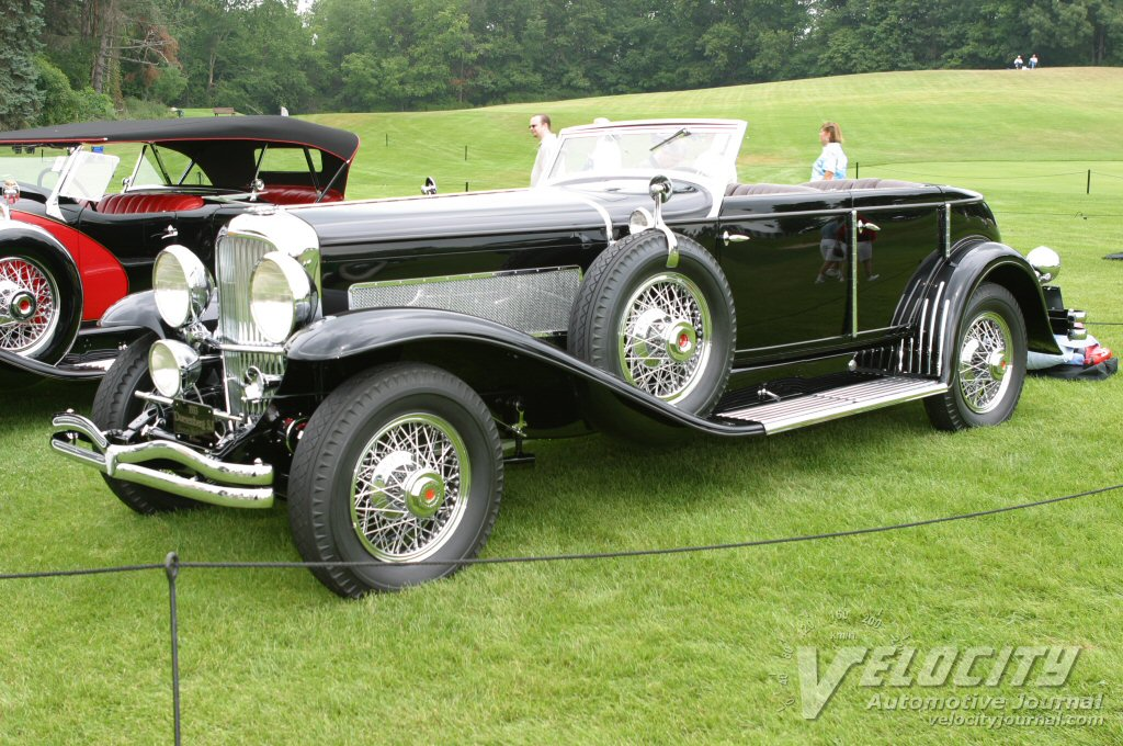 1933 Duesenberg Model SJ Brunn Riviera Sports Convertible