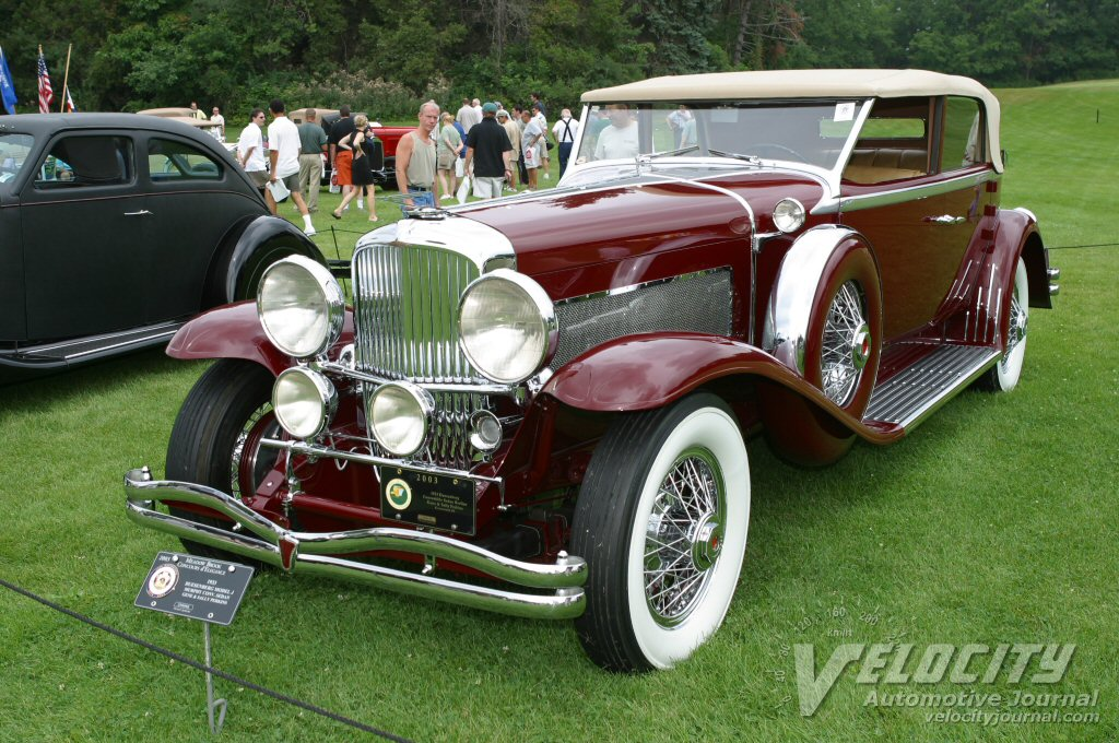 1933 Duesenberg Model J Murphy Convertible Sedan