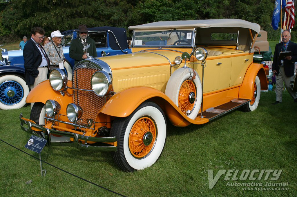 1929 Hudson Dual Cowl Sport Phaeton