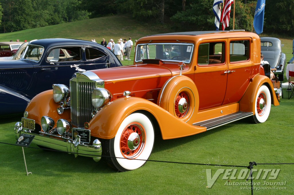 1934 Packard 12 Club Sedan