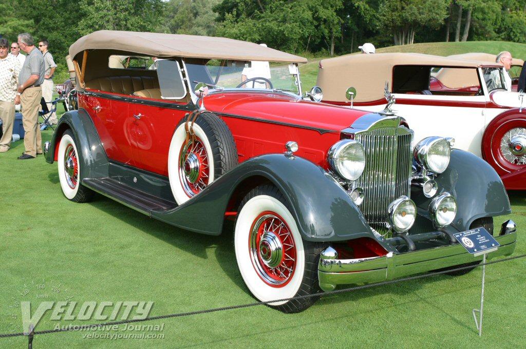 1934 Packard 12 Phaeton