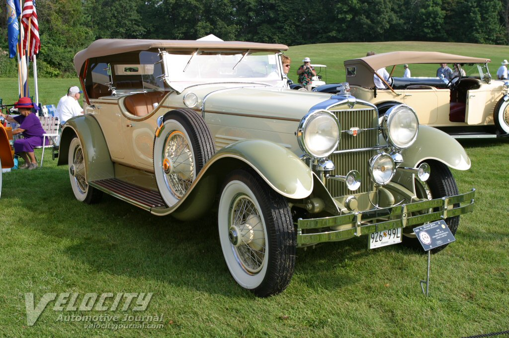 1929 Stutz DU 16 Lebaron Speedster D.C