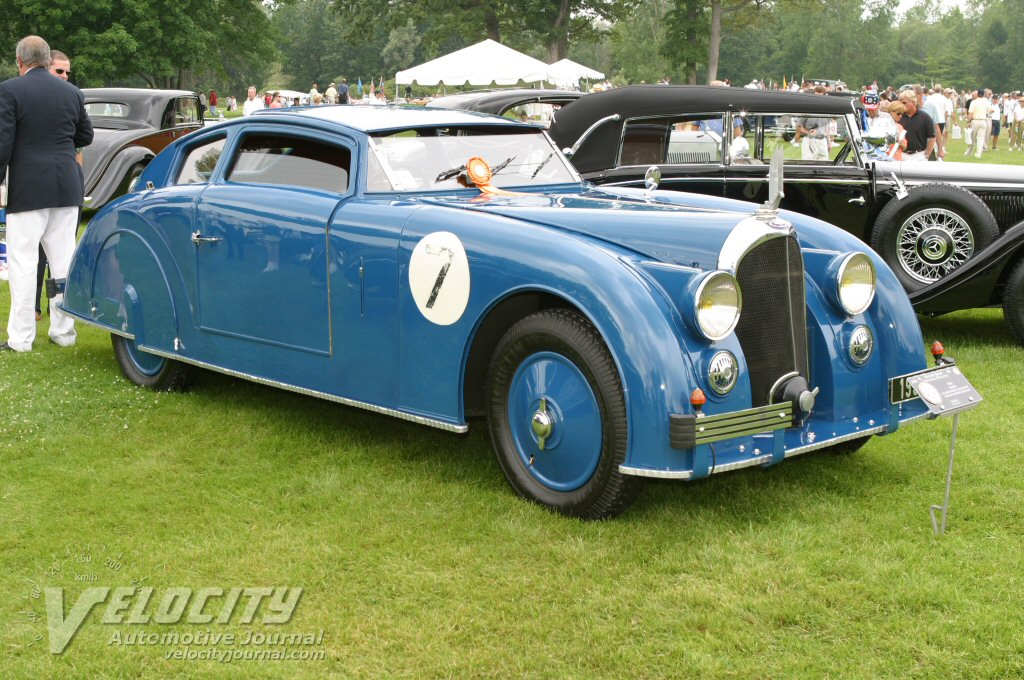 1936 Voisin Aerosport Aero Coupe