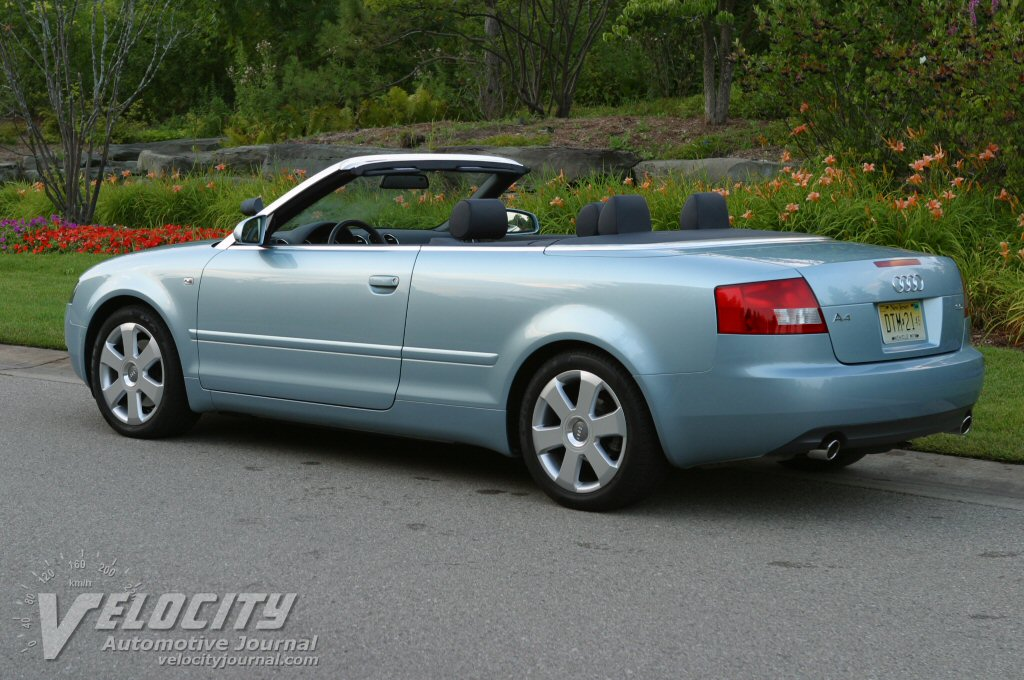 Pictures 2003 Audi A4 Cabriolet Road Test 2