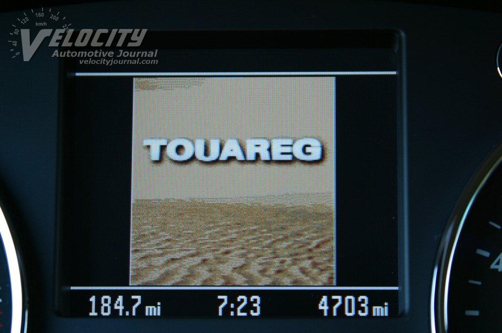 2004 Volkswagen Touareg V8 boot screen