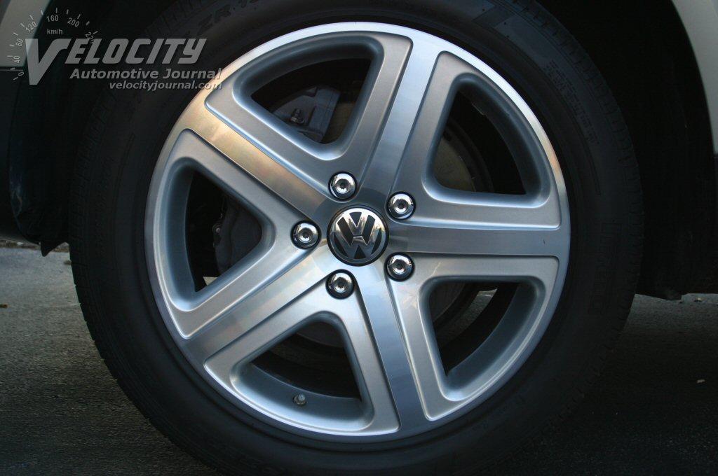2004 Volkswagen Touareg V8 wheels (19 in)