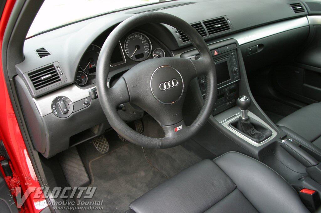2004 Audi S4 interior