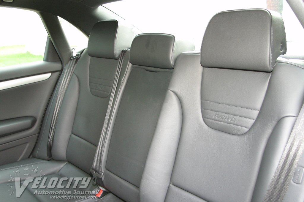 2004 Audi S4 interior - rear