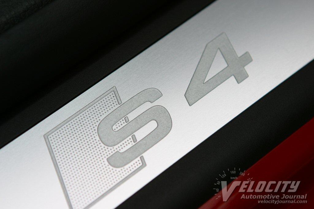 2004 Audi S4 door sill detail