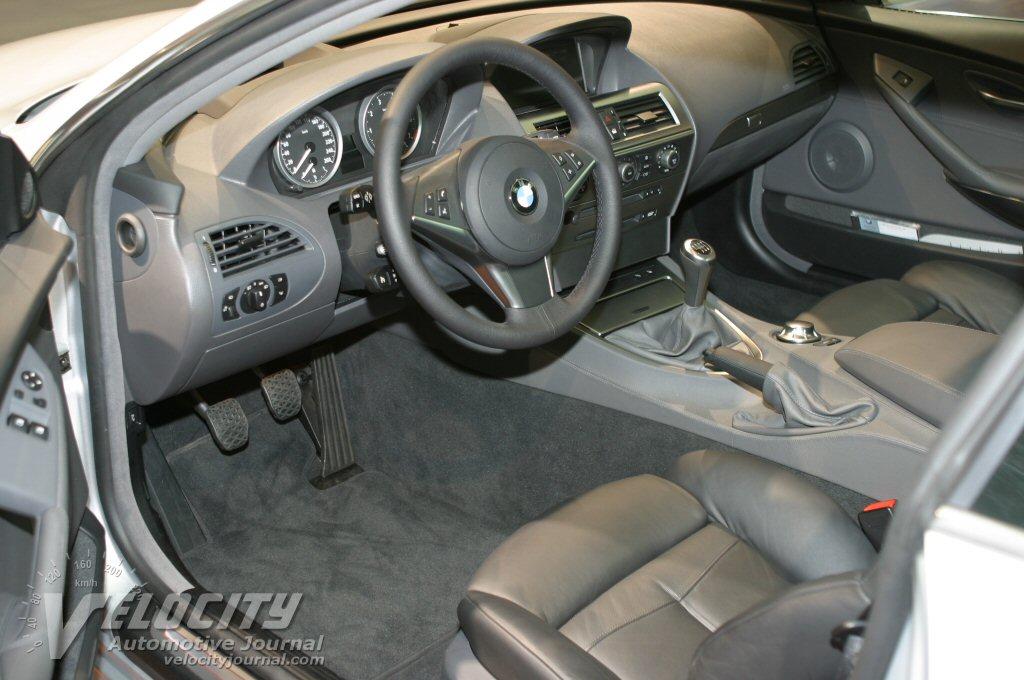 2004 BMW 645Ci interior