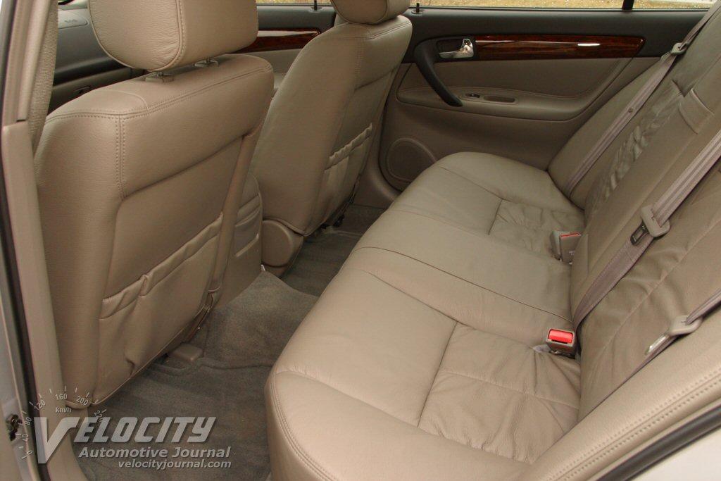 2004 Suzuki Verona Interior