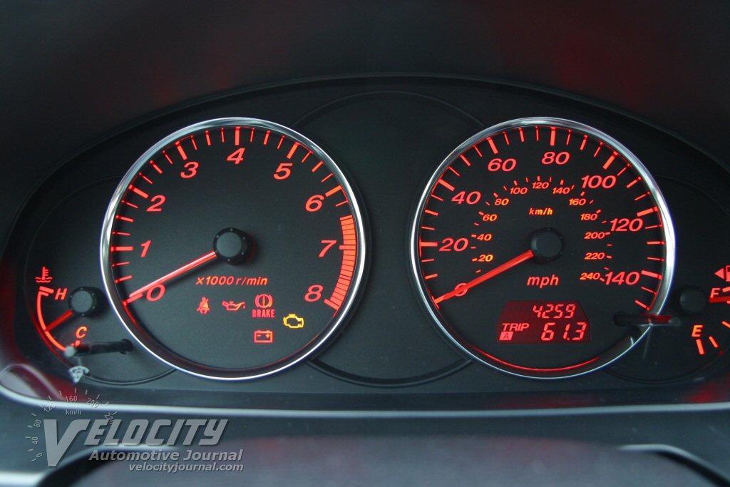 2004 Mazda Mazda6 Instrumentation