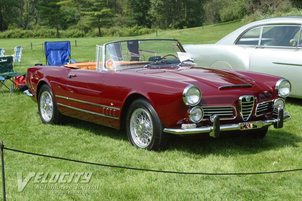 1960 Alfa Romeo 2600 Convertible
