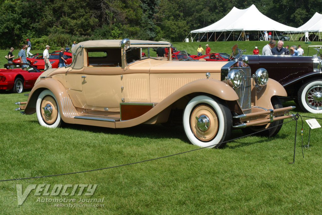 1929 Isotta Fraschini Convertible Coupe