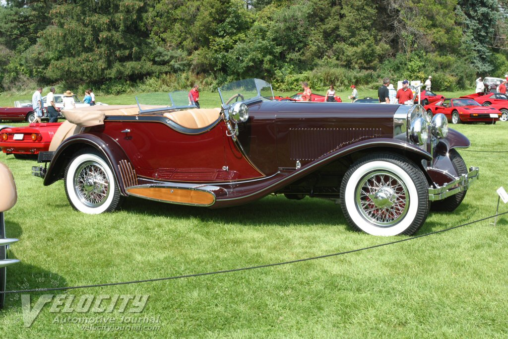 1933 Isotta Fraschini Touring