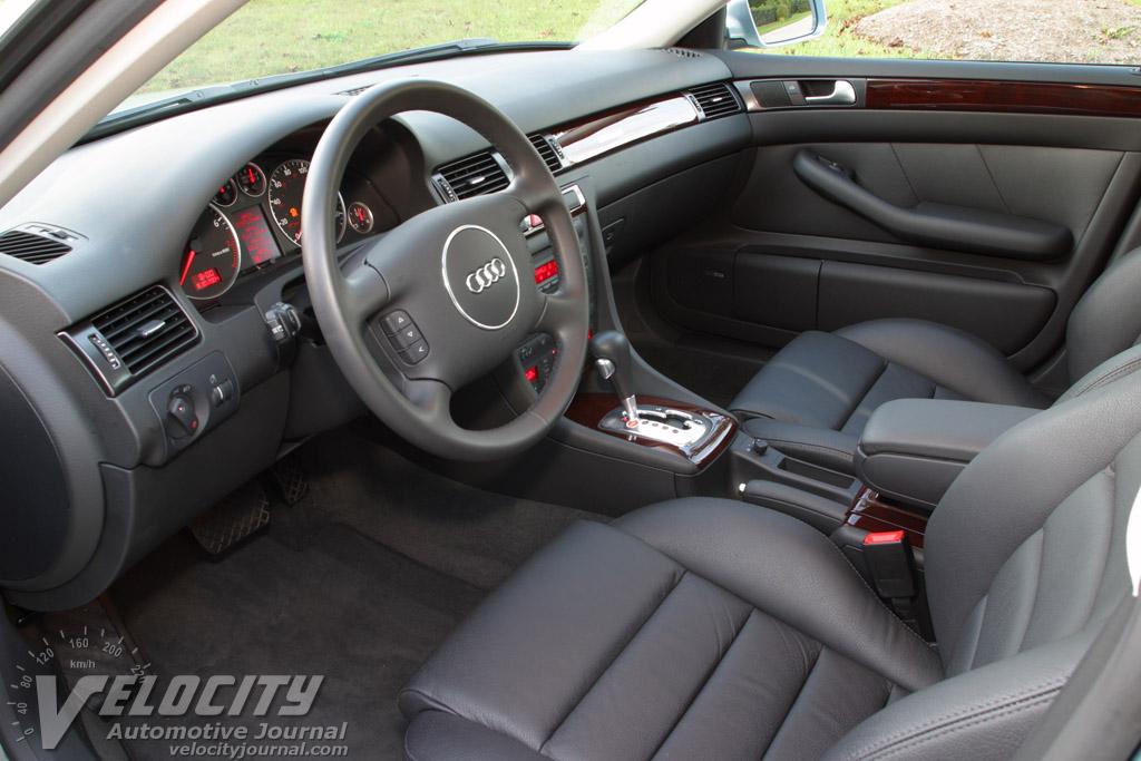 2004 Audi A6 Sedan Interior
