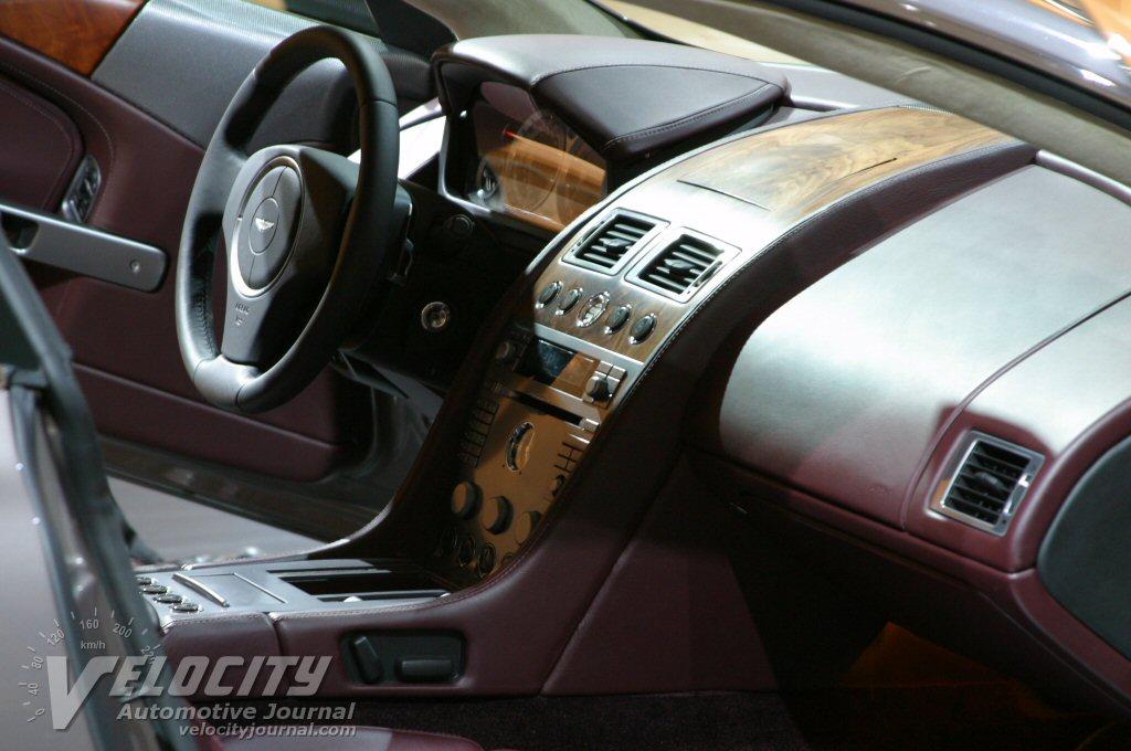 2005 Aston Martin DB9 Interior
