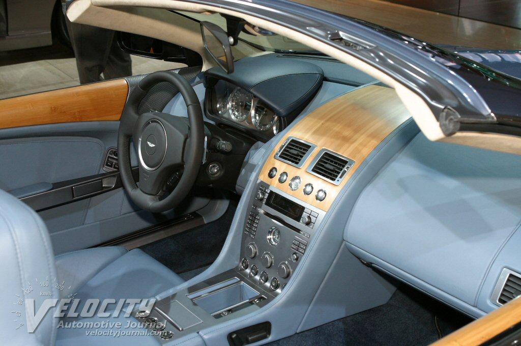 2005 Aston Martin DB9 Volante Interior