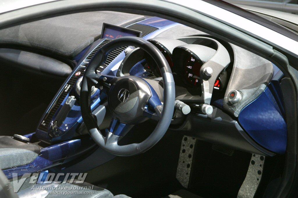 2003 Honda HSC Instrumentation
