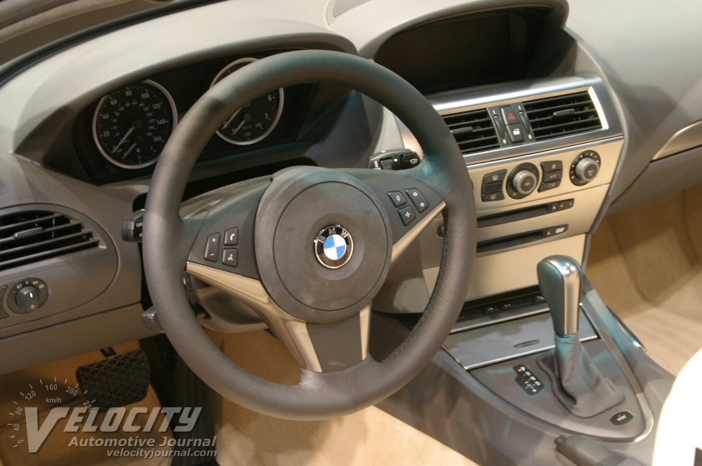 2004 BMW 645Ci Convertible Interior