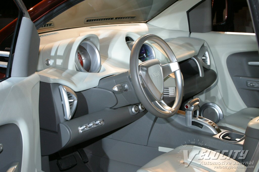 2004 Kia KCV4 Mojave Interior