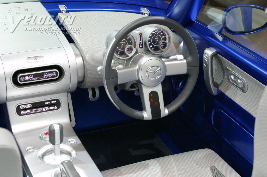 2003 Mazda Ibuki Instrumentation