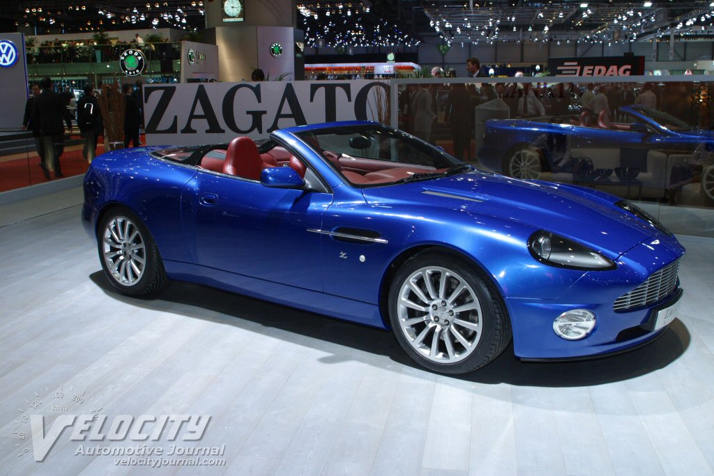 2004 Aston Martin Vanquish Roadster by Zagato information