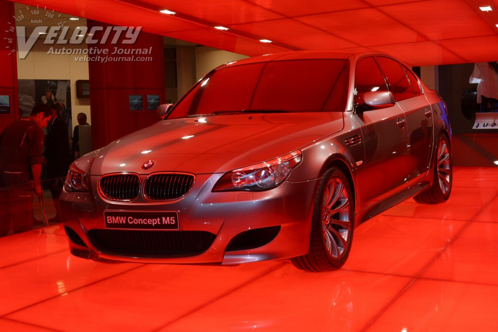 2004 BMW Concept M5 pictures