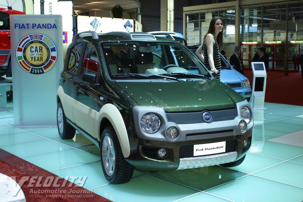 2004 Fiat Panda SUV